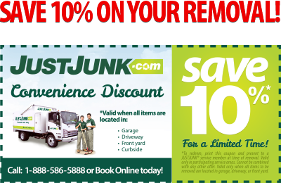 Save 10% off Junk Removal GrandRiver Coupon