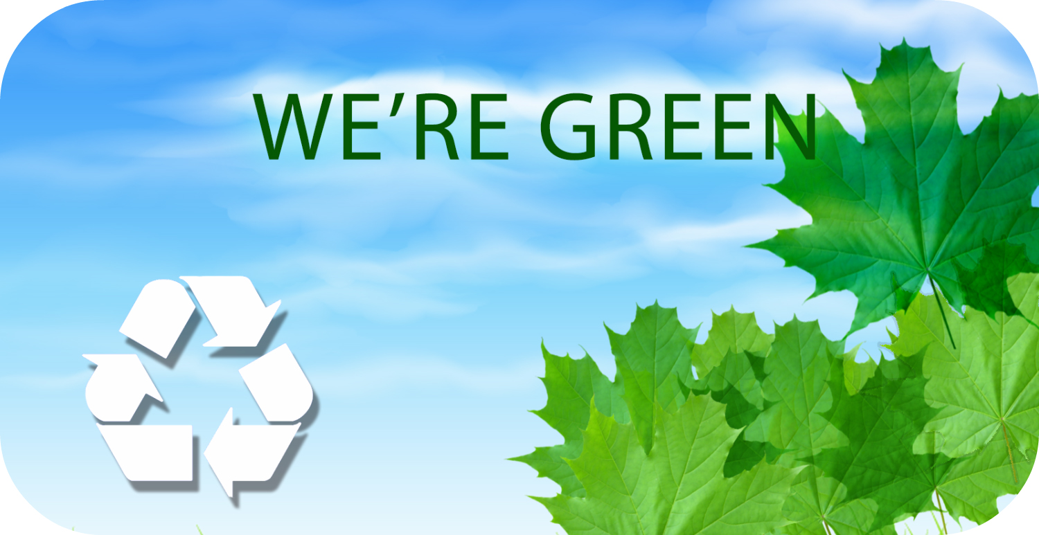 We're Green